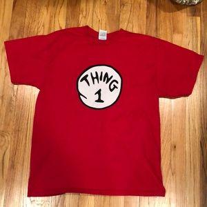 Thing 1 Red tshirt